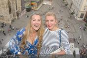 Peschev Kollektionspräsentation - Penthouse am Stephansplatz - Di 16.06.2015 - Evelyn RILLE, Liane SEITZ106