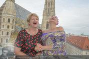 Peschev Kollektionspräsentation - Penthouse am Stephansplatz - Di 16.06.2015 - Maria RAUCH-KALLAT, Andrea BUDAY12