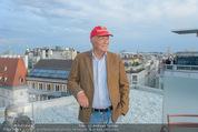 Peschev Kollektionspräsentation - Penthouse am Stephansplatz - Di 16.06.2015 - Niki LAUDA128