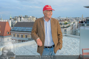 Peschev Kollektionspräsentation - Penthouse am Stephansplatz - Di 16.06.2015 - Niki LAUDA129