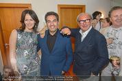 Peschev Kollektionspräsentation - Penthouse am Stephansplatz - Di 16.06.2015 - Anelia PESCHEV, David JOSEPH, Reinhard K�CK133