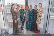 Peschev Kollektionspräsentation - Penthouse am Stephansplatz - Di 16.06.2015 - Anelia PESCHEV mit Models140