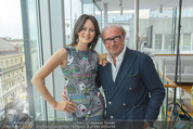 Peschev Kollektionspräsentation - Penthouse am Stephansplatz - Di 16.06.2015 - Anelia PESCHEV, Reinhard K�CK19