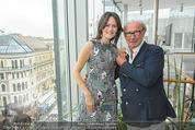 Peschev Kollektionspräsentation - Penthouse am Stephansplatz - Di 16.06.2015 - Anelia PESCHEV, Reinhard K�CK22