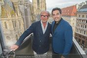 Peschev Kollektionspräsentation - Penthouse am Stephansplatz - Di 16.06.2015 - Reinhard K�CK, David JOSEPH24
