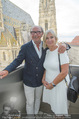 Peschev Kollektionspräsentation - Penthouse am Stephansplatz - Di 16.06.2015 - Reinhard K�CK mit Ehefrau Rosi28