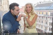 Peschev Kollektionspräsentation - Penthouse am Stephansplatz - Di 16.06.2015 - David JOSEPH, Elisabeth HIMMER-HIRNIGEL31