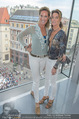 Peschev Kollektionspräsentation - Penthouse am Stephansplatz - Di 16.06.2015 - Kathi und Gabi STUMPF42
