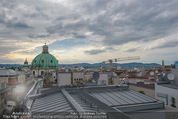 Peschev Kollektionspräsentation - Penthouse am Stephansplatz - Di 16.06.2015 - D�cher �ber Wien, Peterskirche9