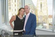 Peschev Kollektionspräsentation - Penthouse am Stephansplatz - Di 16.06.2015 - Kurt MANN mit Joana90