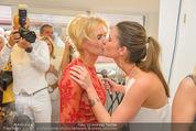Wegrostek Sommerfest - Ordination Wegrostek - Do 25.06.2015 - Eva WEGROSTEK mit Tochter Isi Isabell147
