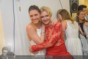 Wegrostek Sommerfest - Ordination Wegrostek - Do 25.06.2015 - Eva WEGROSTEK mit Tochter Isi Isabell148