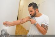 Wegrostek Sommerfest - Ordination Wegrostek - Do 25.06.2015 - Fadi MERZA zeigt sein neues Tattoo (Kind)159