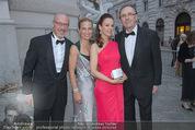 Fete Imperiale - Spanische Hofreitschule - Fr 26.06.2015 - Siegfried MERYN mit Begleitung, Hans SCHMIED mit Ehefrau Petra1