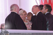 Fete Imperiale - Spanische Hofreitschule - Fr 26.06.2015 - Michael H�UPL, Erwin PR�LL mit Ehefrau Elisabeth (Sissi)103