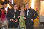 Fete Imperiale - Spanische Hofreitschule - Fr 26.06.2015 - Hubertus HOHENLOHE, Agnes HUSSLEIN mit Ehemann Peter209