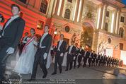 Fete Imperiale - Spanische Hofreitschule - Fr 26.06.2015 - Er�ffnung, Tanzpaare, Einzug, Formation, Hofburg, Michaelerplat93