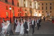 Fete Imperiale - Spanische Hofreitschule - Fr 26.06.2015 - Er�ffnung, Tanzpaare, Einzug, Formation, Hofburg, Michaelerplat97