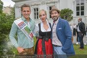Steirer in Wien Empfang - Palais Schönburg - Di 30.06.2015 - Philipp KNEFZ, Nadja BERNHARD, Clemens UNTERREINER10