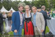 Steirer in Wien Empfang - Palais Schönburg - Di 30.06.2015 - Clemens UNTERREINER, Nadja BERNHARD, Serge FALCK14