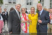 Steirer in Wien Empfang - Palais Schönburg - Di 30.06.2015 -  Thomas SCH�FER-ELMAYER, Lotte TOBISCH, Werner u M. FASSLABEND50