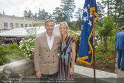 Empfang zum Independence Day - Restidenz der US Botschaft - Di 30.06.2015 - Alexa Lange WESNER mit Ehemann Blaine Fleming WESNER1
