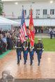 Empfang zum Independence Day - Restidenz der US Botschaft - Di 30.06.2015 - US Marines Soldaten11