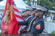 Empfang zum Independence Day - Restidenz der US Botschaft - Di 30.06.2015 - US Marines Soldaten13