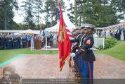 Empfang zum Independence Day - Restidenz der US Botschaft - Di 30.06.2015 - US Marines Soldaten14