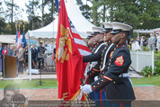 Empfang zum Independence Day - Restidenz der US Botschaft - Di 30.06.2015 - US Marines Soldaten15