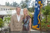 Empfang zum Independence Day - Restidenz der US Botschaft - Di 30.06.2015 - Alexa Lange WESNER mit Ehemann Blaine Fleming WESNER4