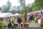 Empfang zum Independence Day - Restidenz der US Botschaft - Di 30.06.2015 - �bersichtsfoto, G�ste, Gartenfest, Feier, Sommerfest6