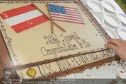 Empfang zum Independence Day - Restidenz der US Botschaft - Di 30.06.2015 - Imperial-Torte US Independence Day9