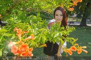 Miss Austria Fotoshooting - Burggarten - Fr 03.07.2015 - Annika GRILL26