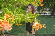 Miss Austria Fotoshooting - Burggarten - Fr 03.07.2015 - Annika GRILL27