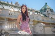 Miss Austria Fotoshooting - Burggarten - Fr 03.07.2015 - Annika GRILL3