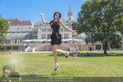 Miss Austria Fotoshooting - Burggarten - Fr 03.07.2015 - Annika GRILL33