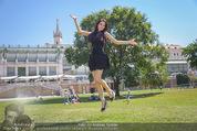 Miss Austria Fotoshooting - Burggarten - Fr 03.07.2015 - Annika GRILL35
