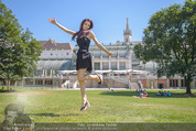 Miss Austria Fotoshooting - Burggarten - Fr 03.07.2015 - Annika GRILL36