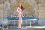 Miss Austria Fotoshooting - Burggarten - Fr 03.07.2015 - Annika GRILL49
