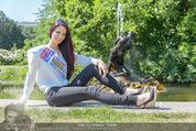 Miss Austria Fotoshooting - Burggarten - Fr 03.07.2015 - Annika GRILL54