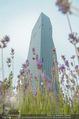 Babyparty - DC Tower Melia Hotel - Di 07.07.2015 - DC Tower mit Blumen, Lavendelfeld17