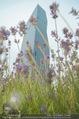Babyparty - DC Tower Melia Hotel - Di 07.07.2015 - DC Tower mit Blumen, Lavendelfeld18