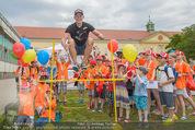 SuperFit Kindertag - Altes AKH - Mi 08.07.2015 - Thomas MORGENSTERN mit Kindern1