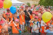 SuperFit Kindertag - Altes AKH - Mi 08.07.2015 - Thomas MORGENSTERN mit Kindern10