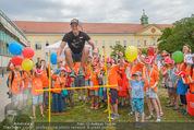 SuperFit Kindertag - Altes AKH - Mi 08.07.2015 - Thomas MORGENSTERN mit Kindern5