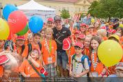 SuperFit Kindertag - Altes AKH - Mi 08.07.2015 - Thomas MORGENSTERN mit Kindern6