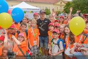 SuperFit Kindertag - Altes AKH - Mi 08.07.2015 - Thomas MORGENSTERN mit Kindern7