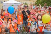 SuperFit Kindertag - Altes AKH - Mi 08.07.2015 - Thomas MORGENSTERN mit Kindern8
