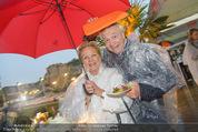 Tosca Premiere - Steinbruch St. Margarethen - Mi 08.07.2015 - Harald und Ingeborg Mausi SERAFIN75